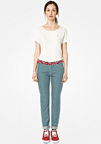 Lacoste Live skinny fit stretch jeans Women