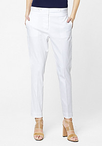 Lacoste Tapered stretch trousers Women