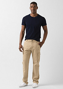 Lacoste Trousers with side pockets Men