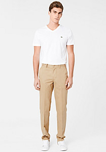 Lacoste Classic fit trousers Men