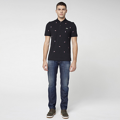 Lacoste Live slim fit 5-pocket jeans