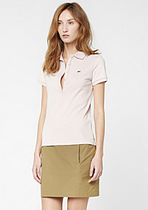 Lacoste Plain straight skirt Women