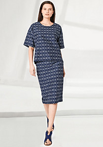 Lacoste Fashion Show patterned skirt Women