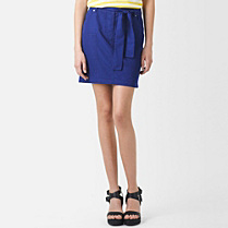Lacoste Belted skirt with pockets Women