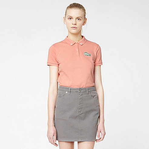 Lacoste Live denim skirt