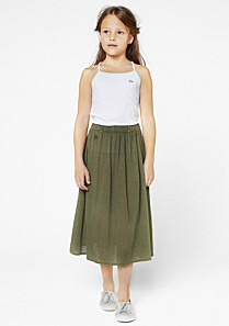 Lacoste Long skirt with elasticated waist gender.gir