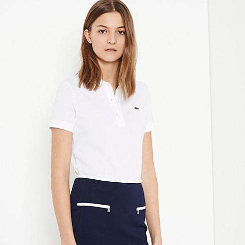 Plain Classic fit Lacoste polo