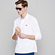 Plain L.12.12 Original polo with long sleeves