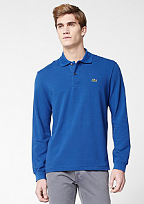 Lacoste Plain Long Sleeved Original L.12.12 Polo Men
