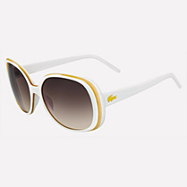 Lacoste Stripes & Piping sunglasses Women