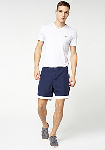 Lacoste Two-tone swim shorts Men