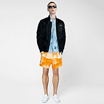 Lacoste Live printed swim shorts Men