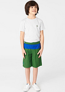 Lacoste Two-tone swim shorts with side pocket Boy