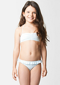 Lacoste Printed two-piece swimsuit gender.gir
