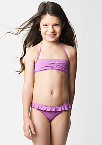 Lacoste Plain two-piece swimsuit gender.gir