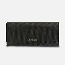 Lacoste Institutionnelle large leather wallet Women