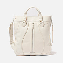 Lacoste Fashion Show Collection leather flat handbag Women