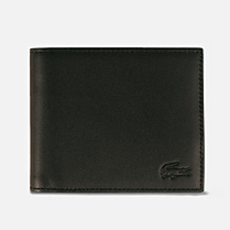 Lacoste Fitzgerald large leather wallet Men
