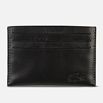 Lacoste Fitzgerald leather card holder Men