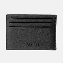 Lacoste John leather card holder Men