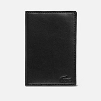 Lacoste Fitzgerald leather passport holder Men