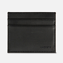 Lacoste Andrew leather card holder Men