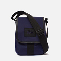 Lacoste Street Balance satchel with flap Men