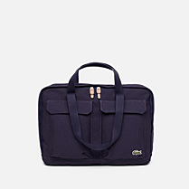 Lacoste Live cotton computer bag Men