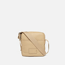 Lacoste John leather satchel Men