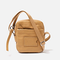 Lacoste John small leather satchel Men