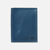 Lacoste Live leather card holder. Uni