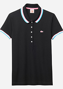 Lacoste Live ultraslim fancy polo Women
