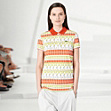 Fashion Show patterned polo