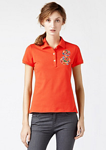 Lacoste Campanas Stretch-Polo Frau