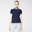 Lacoste Live ultra-slim fit polo with piping