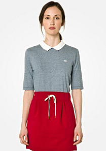 Lacoste Live polo with back closure Women
