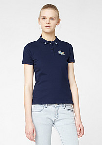 Lacoste Live stretch polo with crocodile Women