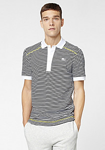 Casual Sport striped Lacoste polo Men