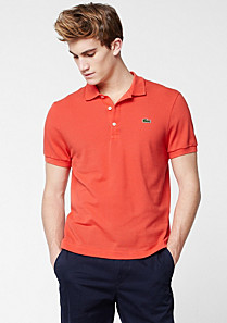 Lacoste-Polo Slim fit uni Herren