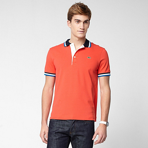 Lacoste Stretch fancy polo