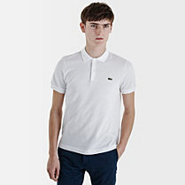 Lacoste Live Ultraslim fit plain polo Men
