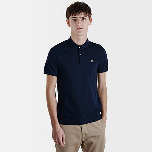 Plain Lacoste Live Ultraslim fit polo