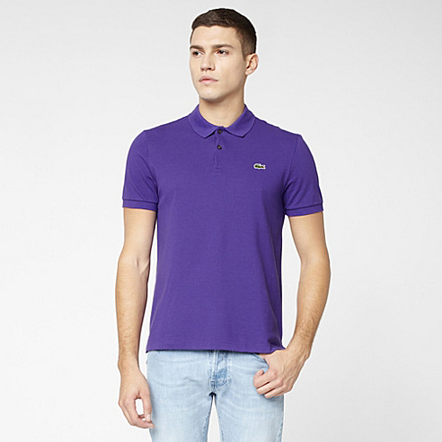 Lacoste Live Ultraslim fit plain polo