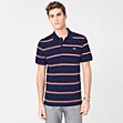 Striped Regular fit Lacoste polo