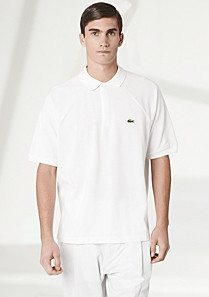 Fashion Show Regular fit plain Lacoste polo Men