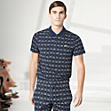 Fashion Show Regular fit patterned Lacoste polo