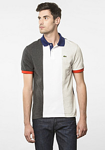 Flags Regular Lacoste polo - France Men