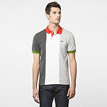 Flags Regular Lacoste polo - Italy Men