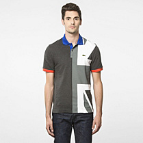 Flags Regular Lacoste polo - United Kingdom Men