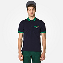 Lacoste Live Ultraslim polo with pocket Men